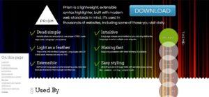 1-1 prism.jsのホームページ