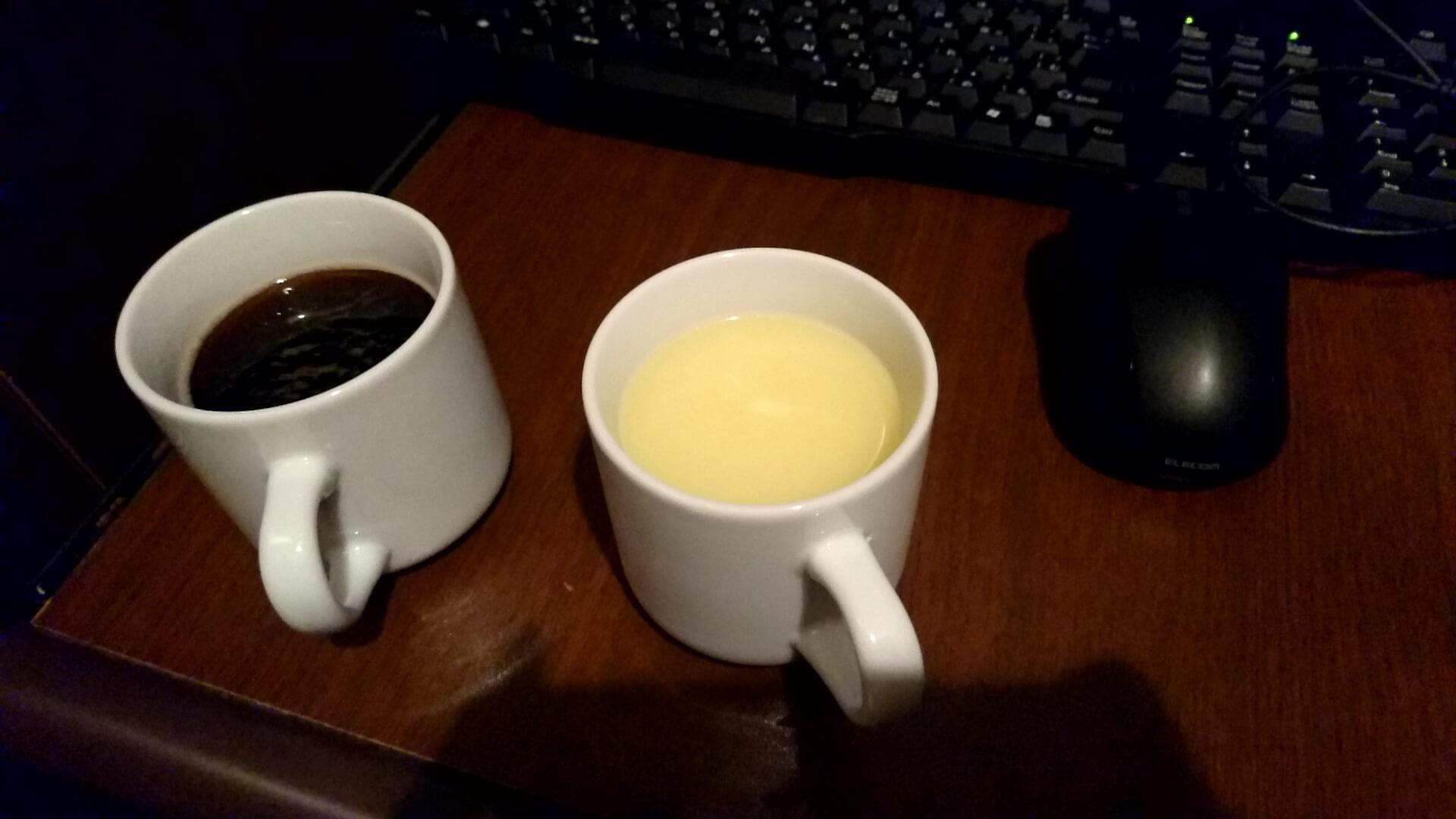 5-2 コーンスープやコーヒー