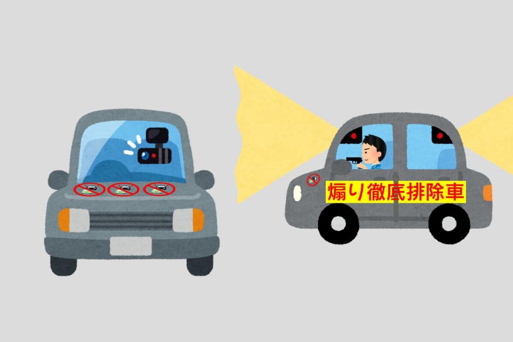 2-6 あおり運転徹底追放車両